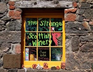 Unique Scottish Wines..