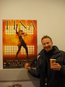 Tina Turner Tour – Hamburg to Hannover..