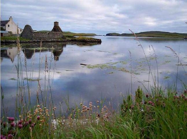 Shetland harbour