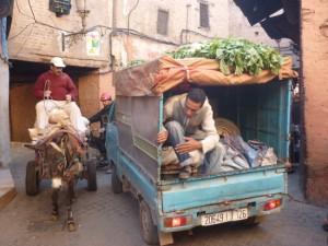 Marrakech traffic