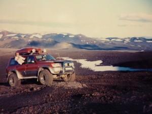 Nearing Mt. Hekla summit, Iceland